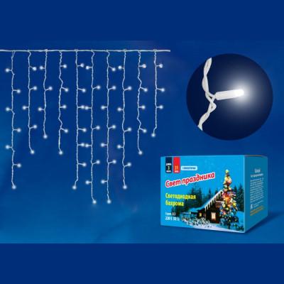 Бахрома led белая 3м Новогодние товары/Китай