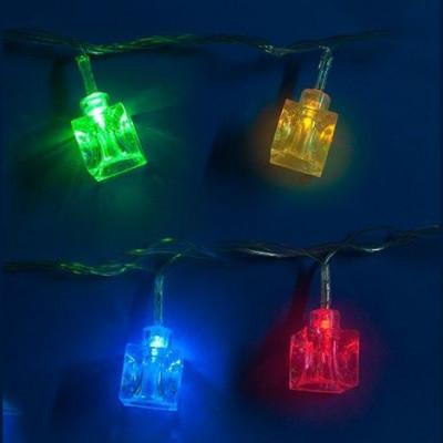 Гирлянда разноцветная 2,8м  led «Кубики» Новогодние товары/Китай