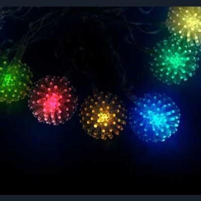 Гирлянда разноцветная led «Шарики»  2,8м Новогодние товары/Китай