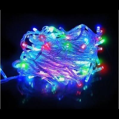 Гирлянда уличная led разноцветная  10м Новогодние товары/Китай