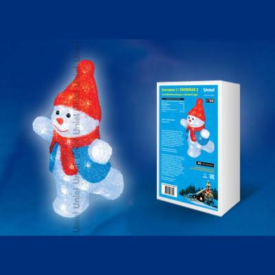 Фигура  led «Снеговик-2», Новогодние товары/Китай