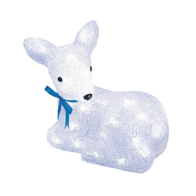 Фигура  led «Лежащий оленёнок-1», Новогодние товары/Китай