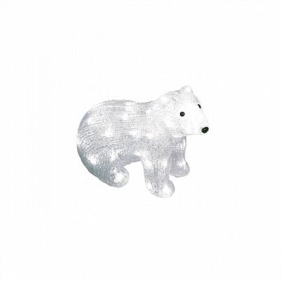 Фигура  led «Белый медведь-4», Новогодние товары/Китай