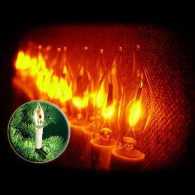Гирлянда Мерцающие свечи 2,5м Новогодние товары/Китай