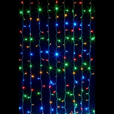Гирлянда led  занавес 1,5х2,2м Новогодние товары/Китай
