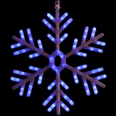 Снежинка бело-синяя, Новогодние товары/Китай