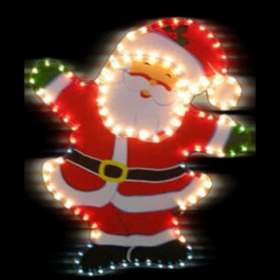 """Фигура  led """"Улыбающийся Дед Мороз """" Новогодние товары/Китай"""