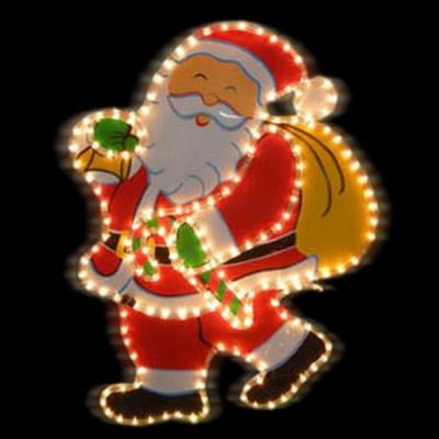 """Фигура  led """"Дед Мороз с мешком"""" Новогодние товары/Китай"""