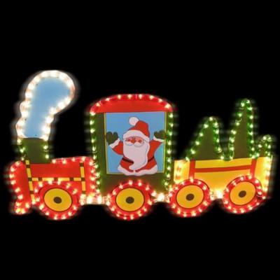 """Фигура  led """"Новогодний поезд"""" Новогодние товары/Китай"""