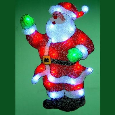 Фигура  led двусторонняя, Дед Мороз Новогодние товары/Китай