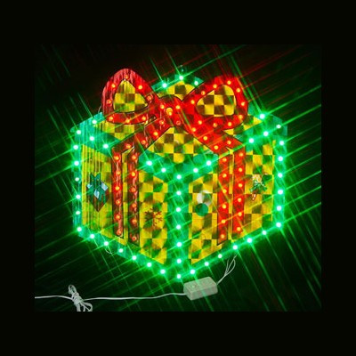 Фигура  ledПодарочная коробка Новогодние товары/Китай