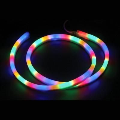 Неон светодиодный 3-х жильный,  цветной Новогодние товары/Китай