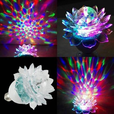 Диско лампа цветок Новогодние товары/Китай