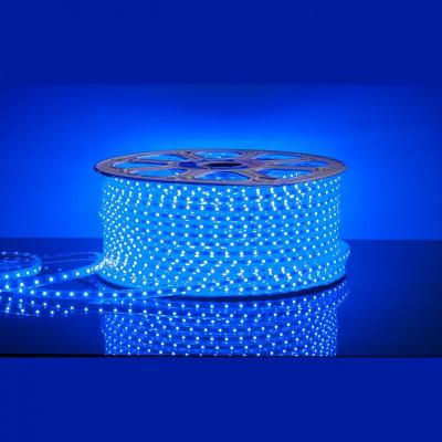 Лента led 3528 синяя, 220v, Новогодние товары/Китай