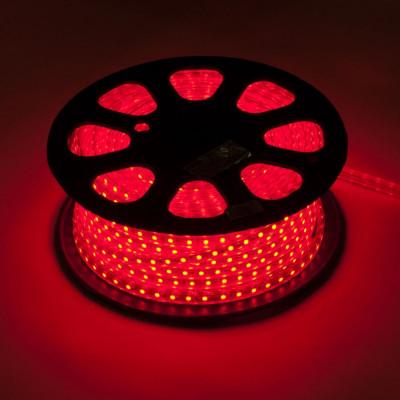 Лента led 5050 красная, 220v, Новогодние товары/Китай